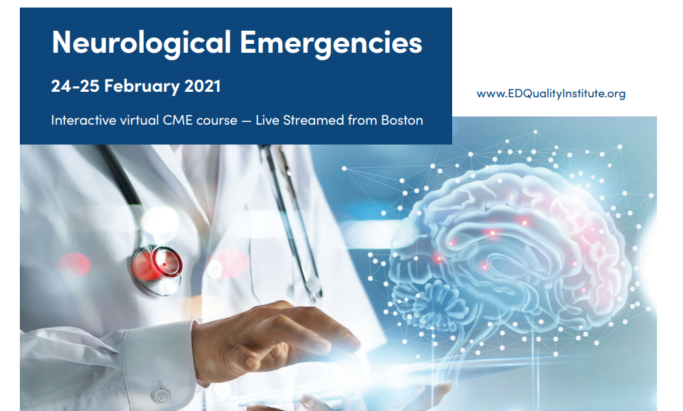 Neurological Emergencies Virtual Course 24th – 25th February – Harvard Medical School