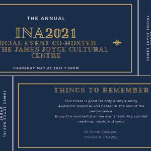 vINA 2021 Joyce / Beckett performances