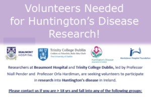 Huntington's Research