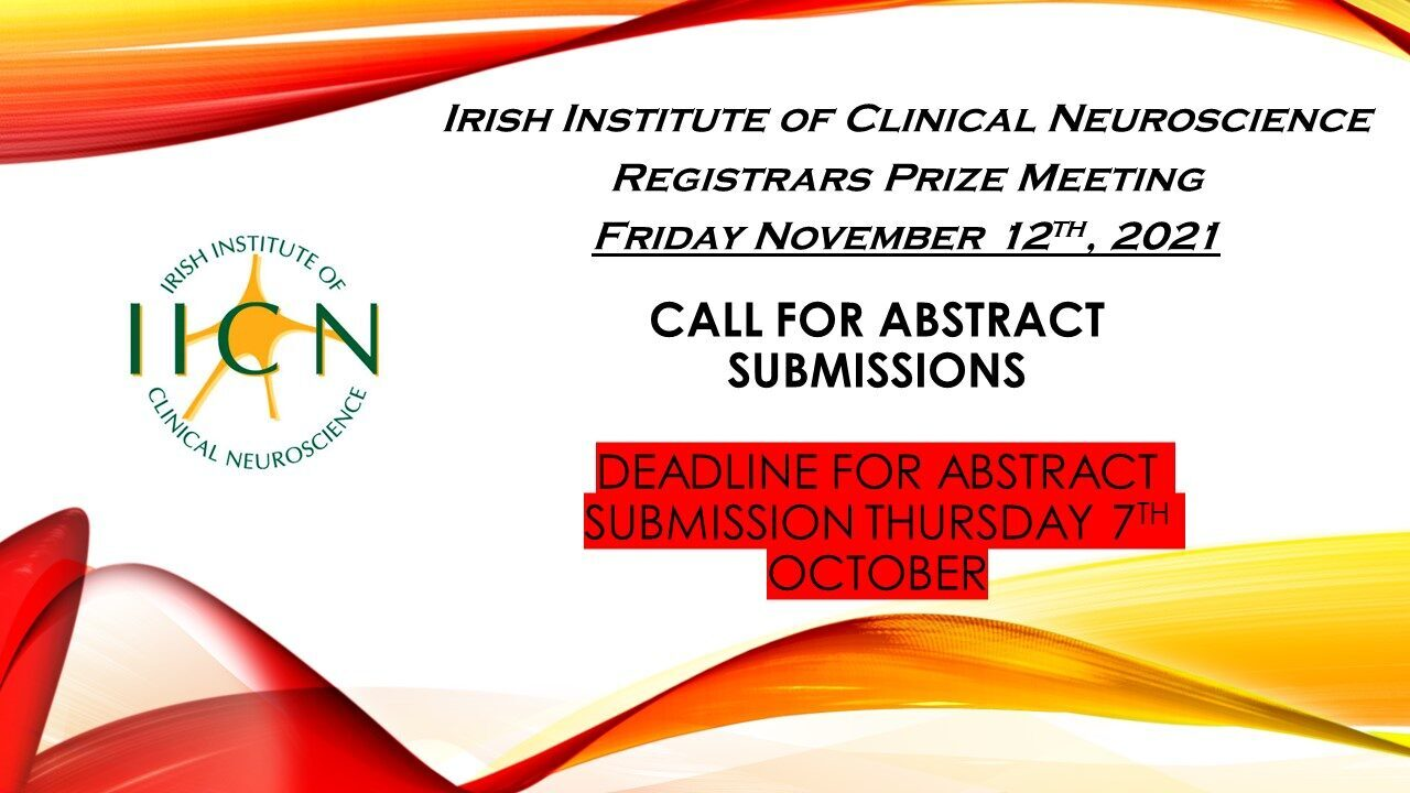 Abstract Submission for Registrar's Prize in Clinical Neuroscience