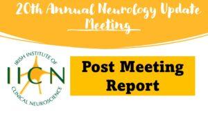 Neurology Update Meeting October 2021: Report