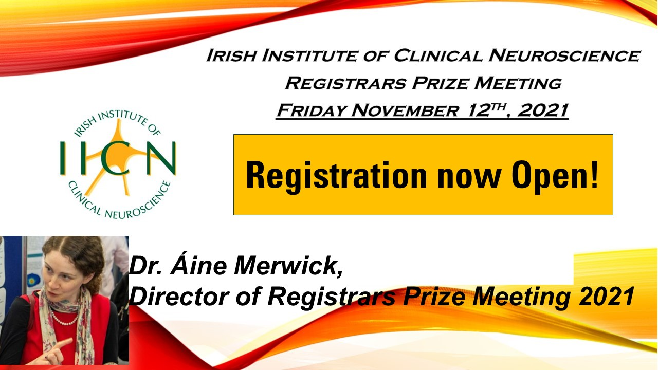 Registrar's Prize in Clinical Neuroscience